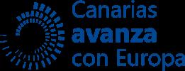 Logo de Canarias avanza con Europa